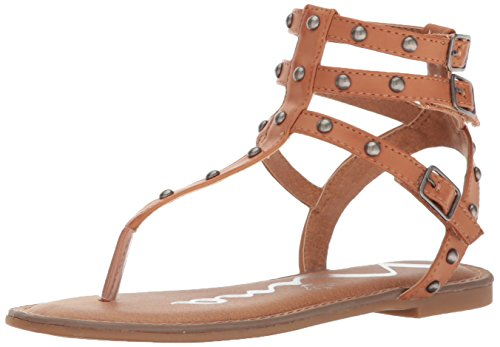 Little Girls Sandals (Nina Girls' Alexis Gladiator Sandal, Tan, 12 M US Little Kid)
