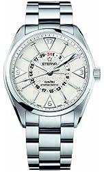 Eterna Men's 1592.41.11.0217 Kontiki Stainless steel Four-Hands Watch