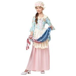 California Costumes Colonial Lady/Betsy Ross/Martha Washington/Ch Costume - 41WXDCEPvFL - California Costumes Colonial Lady/Betsy Ross/Martha Washington/Ch Costume