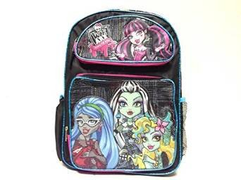 De la manera de la mochila de - Monster High - Color negro deolux 116884: Amazon.es: Bebé