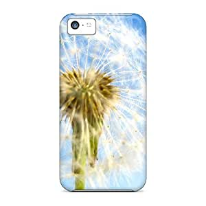 Ultra Slim Fit Hard NikRun Case Cover Specially Made For Iphone 5c- Fluffy Nature
