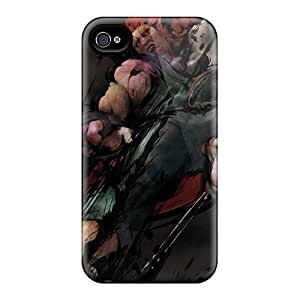Iphone 4/4s Case Slim [ultra Fit] Street Fighter Akuma Protective Case Cover