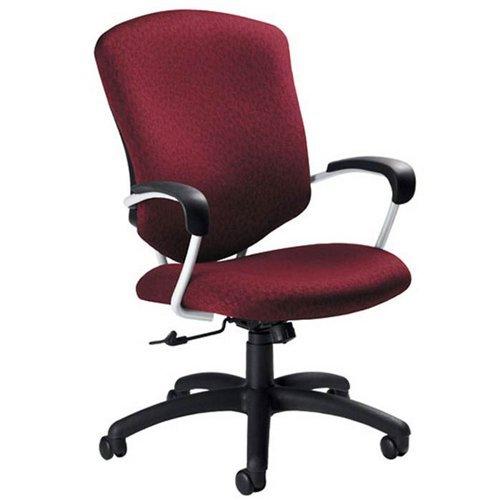 Supra High Back Pneumatic Tilter Chair Fabric: Graphite -