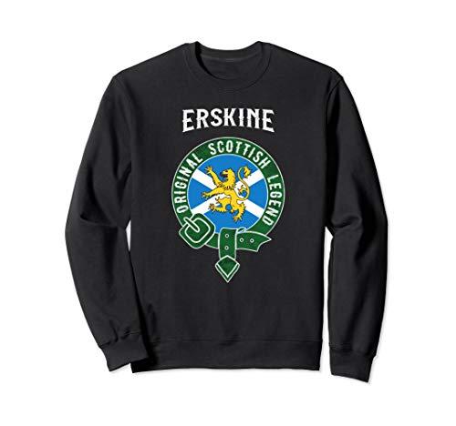 Erskine Clan Scottish Legend Scotland Flag Belt Sweatshirt