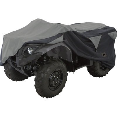 X-large Atv - Classic Accessories 15-062-053804-00 Black/Grey X-Large Deluxe ATV Storage Cover