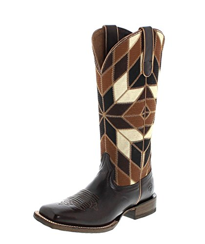 FB Fashion Boots Women's 18501 Mirada Cowboy Boots Chocolate zS3pFOusYk