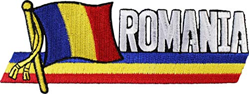(Romania - Country Flag Patch)
