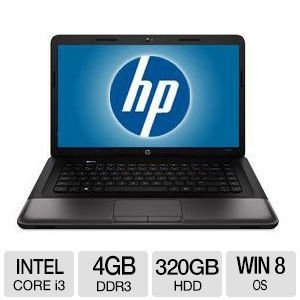 HP ESSEN250 16-Inch Laptop PC (2.2 GHz Intel Core i3-2328M processor, 4GB DDR3 RAM, 320GB Hard Drive, Webcam, Windows 8 64-bit)