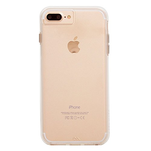 Case-Mate iPhone 8 Plus Case - NAKED TOUGH - Clear - Ultra Slim - Protective Design for Apple iPhone 8 Plus- Clear