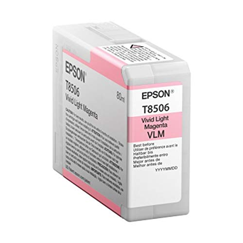 Epson T850600 T850 UltraChrome HD Vivid Light Magenta Ink