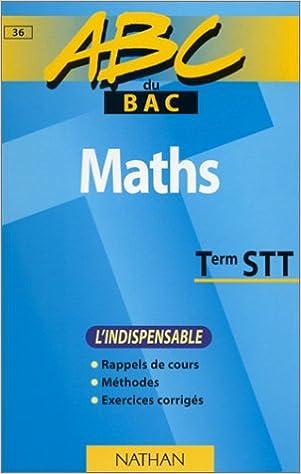 Livre gratuits en ligne ABC maths, terminales STT (indispensable) epub pdf