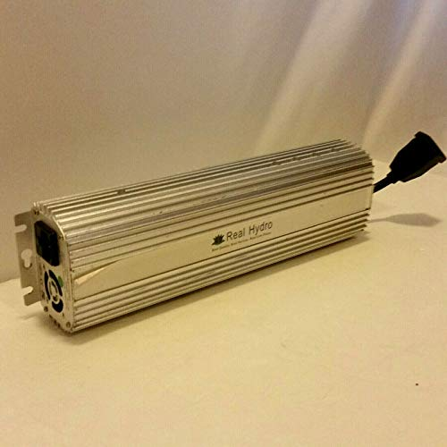 Real Hydro 1000W Digital Ballast Indoor HPS & MH Dimmable 120/240V