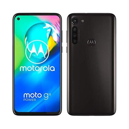 chollos oferta descuentos barato Motorola Moto G8 Power Pantalla de 6 4 FHD o notch procesador Qualcomm Snapdragon SD665 cámara principal de 16MP cámara macro de 2MP batería de 5000 mAH Dual SIM 4 64GB Android 10 Negro