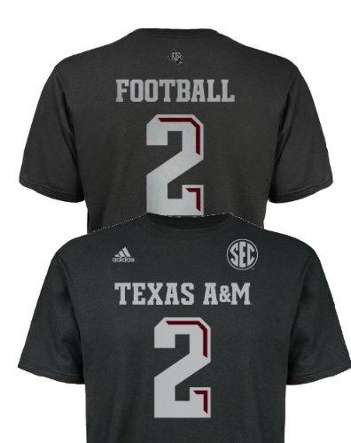 best website 7ca40 b6600 Amazon.com: Johnny Football Manziel Texas A&M Aggies Black ...