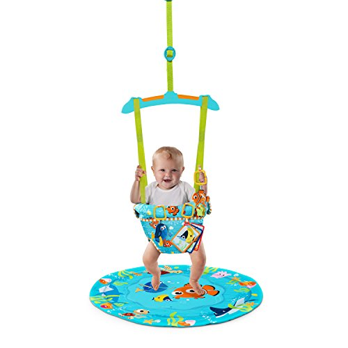 59783db1f831 Amazon.com   Disney Baby Finding NEMO Sea of Activities Door Jumper ...