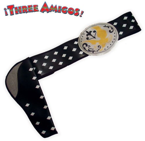 The Three Amigos Dusty Bottoms Adult Belt Size One-Size (Amigo Costume)