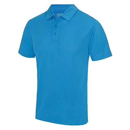 AWDis Cool Herren Poloshirt Blau Saphirblau
