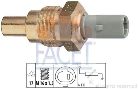 Temperatura refrigerante; Sensore Temperatura refrigerante Facet 7.3161 Sensore Temperatura refrigerante; Sensore