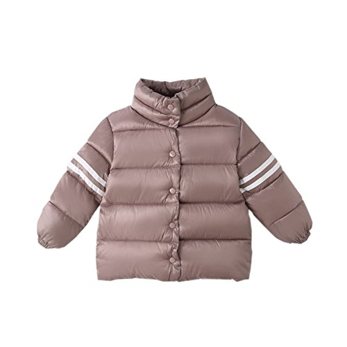 Size Fairy Jacket Thick 12M Solid Outwear Winter Purple Snowsuit Khaki Toddler Warm Gray Cotton 9 Down Baby Boys 7S7p4q