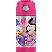 THERMOS Funtainer 12 Ounce Bottle, Minnie Mouse