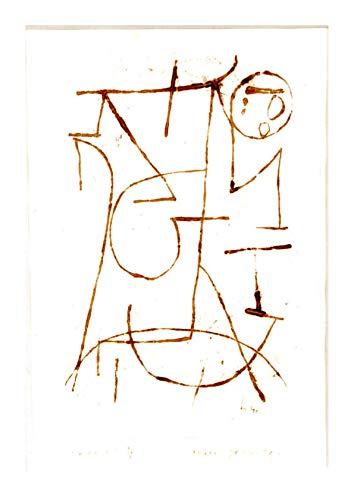 Spiffing Prints Paul Klee - Inner Forces - Medium - Semi Gloss - Unframed