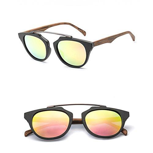 Polarizadas Hombre Sol Gafas De Marco Gafas De De Gafas Sol Y Mujer D Época Madera De De Sol De De p1q664Raw