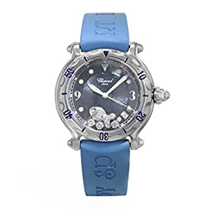 Chopard Happy Fish quartz womens Watch 288347-3012BLU (Certified Pre-owned)