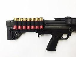 Kel-Tec KSG Shotgun Nylon 7-Shell Velcro Back Carrier Card - By Hi-Tech Custom Concepts