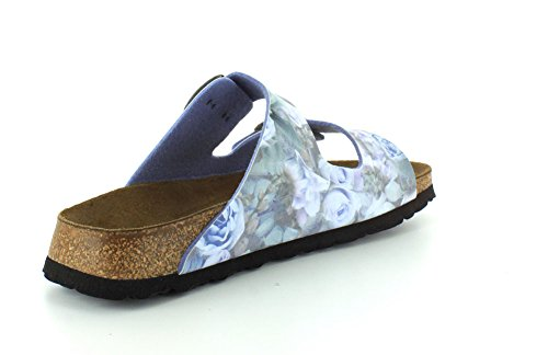 Flor Sandals Papillio Rose Silky Womens Blue Arizona Birko qxx1W4avBg
