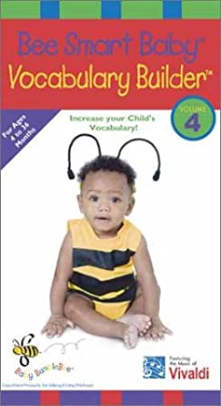 amazon com bee smart baby vocabulary builder 4 an educational