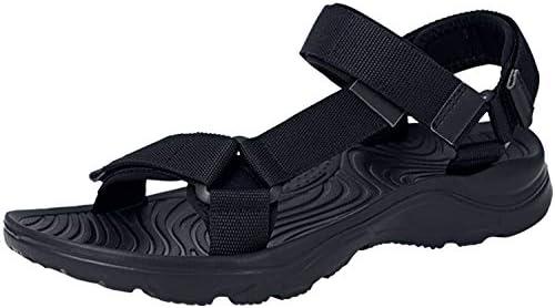 サンダル メンズ オフィス ベルクロ スポーツサンダル 黒 超軽量 かかと 安い アウトドア ビーチサンダル オシャレ 滑り止め 歩きやすい 大きい 夏 通勤 24.5-27.5cm