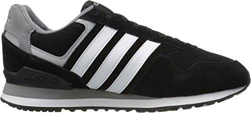 adidas-Performance-Mens-Runeo-10k-Running-Shoe-BlackWhiteMatte-Silver-12-M-US