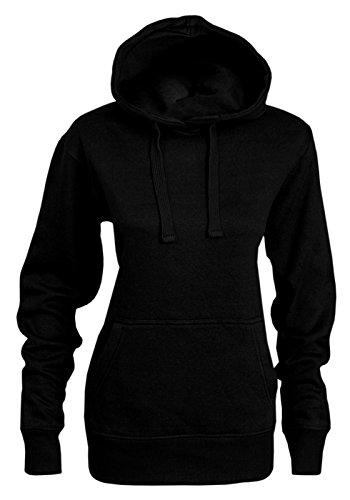 Bemode - Sudadera con capucha - para mujer negro