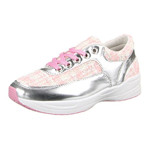 Ital-Design - zapatilla baja Mujer Rosa - Rosa Silber