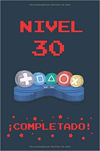 Amazon.com: NIVEL 30 COMPLETADO: REGALO DE CUMPLEAÑOS ...