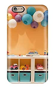 BcjNRTx9640Pyyek Anti-scratch Case Cover Cynthaskey Protective Wall Cubby Storage In Playroom With Paper Lanterns Case For Iphone 6