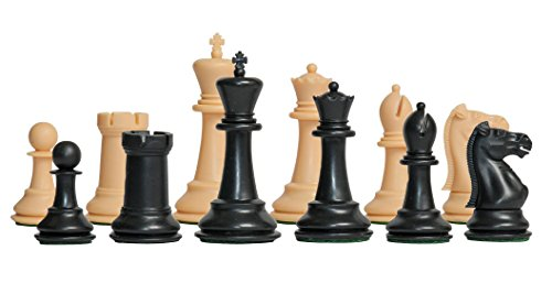 n - The Marshall Plastic Chess Set - Pieces Only - 3.75