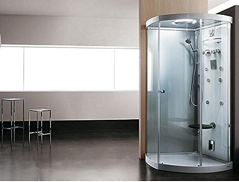 Teuco cabina de ducha con chorros de masaje multifunción luz 112 x ...
