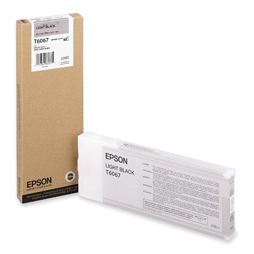 (Epson UltraChrome K3 Ink Cartridge - 220ml Light Black (T606700))