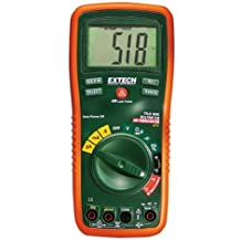 Extech EX470 True RMS Multi-Meter and Infrared Thermometer with Capacitance, Frequency and Duty Cycle Measurements and 2 K-Type Remote Probes.
