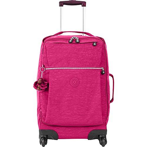 Kipling Women's Darcey Small Printed Wheeled Luggage, Very Berry