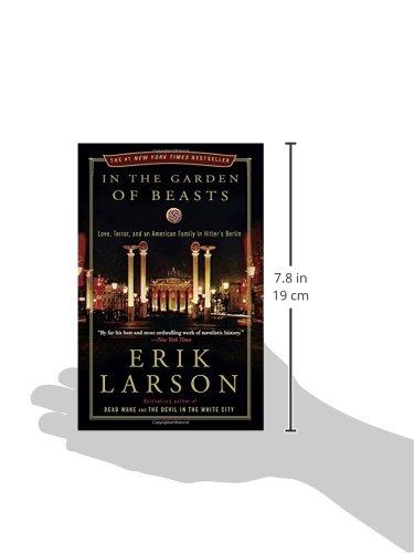 In The Garden Of Beasts Love Terror And An American Family In Hitler S Berlin Larson Erik 9780307408853 Amazon Com Books