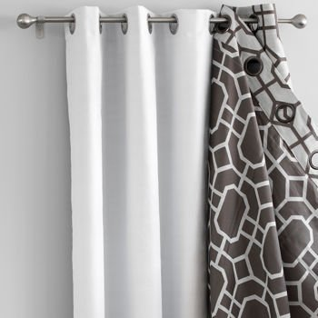 Universal Grommet Blackout Liner - Best Insulated Blackout Curtain ...