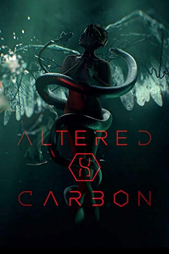 by COOLEST Altered Carbon Takeshi Kovacs Joel Kinnaman Martha Higareda James Purejoy Rene Elise Goldsberry Chris Conner ATO Essandoh Waleed Zuaiter TV Poster 12 x 12 inch Poster Rolled