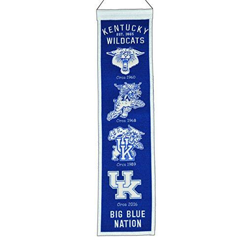 Blue Wildcats New Kentucky (NCAA Kentucky Wildcats Heritage Banner)