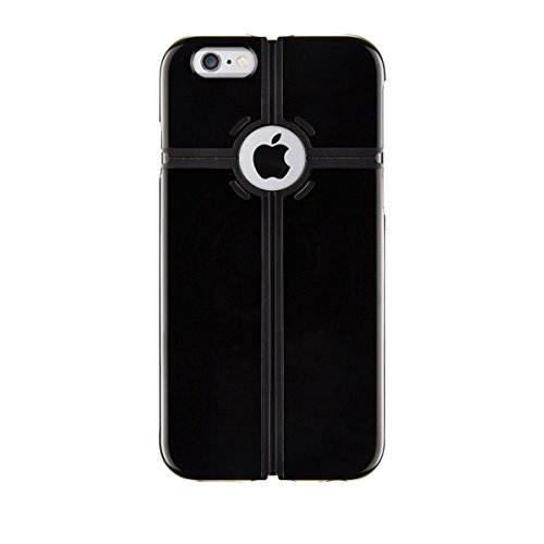 QDOS Portland Multi Stand Hülle für Apple iPhone 6 Plus schwarz