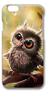 iPhone 6 Plus Case, Customized Slim Protective Hard 3D Case Cover for Apple iPhone 6 Plus(5.5 inch)- Baby Owl
