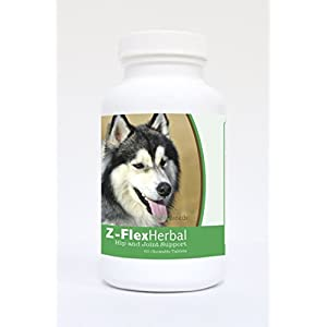 Healthy Breeds Z-Flex Herbal Hip & Joint Support - Over 200 Breeds - 60 Tasty Chewable Tablets 2