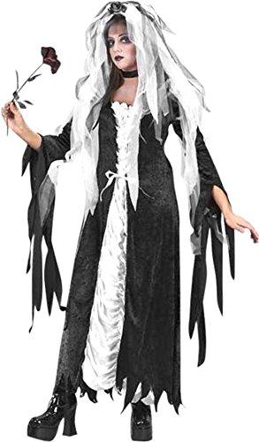 Teen Coffin Bride Costume -
