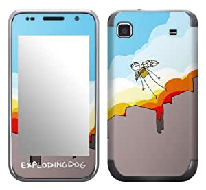 Zing Revolution MS-EXDG10275 EXPLODINGDOG - The Flight Cell Phone Cover Skin for Samsung Galaxy S 4G (SGH-T959V)